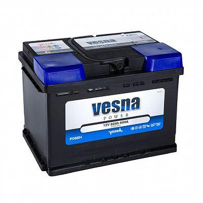 Автомобильный аккумулятор VESNA Power 60 (D23L) фото 401x401