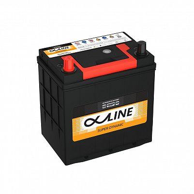 Автомобильный аккумулятор AlphaLine Super Dynamic 44Ач (MF46B19R) фото 401x401