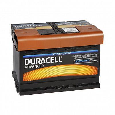 Автомобильный аккумулятор Duracell 77.0 (DA 77T) фото 401x401