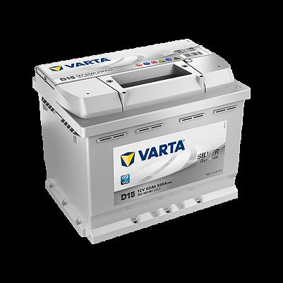 Автомобильный аккумулятор Varta D15 Silver Dynamic 63Ah 610A (563 400 061) фото 401x401