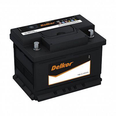 Автомобильный аккумулятор DELKOR Euro 62.0 L2 (56219) фото 401x401