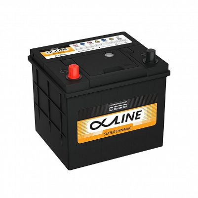 Автомобильный аккумулятор AlphaLine Super Dynamic 58Ач (MF26-550) фото 401x401