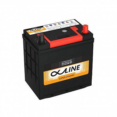 Автомобильный аккумулятор AlphaLine Super Dynamic 44Ач (MF46B19L) фото 401x401
