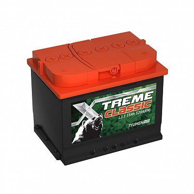 Автомобильный аккумулятор X-treme CLASSIC (Тюмень) 55.1 фото 401x401