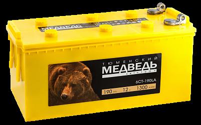 Аккумулятор для грузовиков Тюменский Медведь 190.4 фото 401x250
