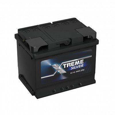 Автомобильный аккумулятор X-treme Silver (АКОМ) 62.0 фото 401x401